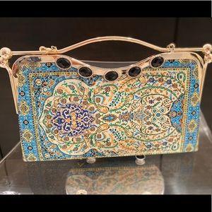 Handbags - Dubrovnik souvenir clutch.
